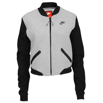Nike Tech Fleece Bomber - Women's at Eastbay
