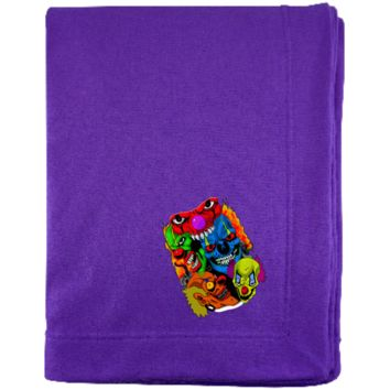 Multi Clown Group G129E Gildan Sweatshirt Blanket
