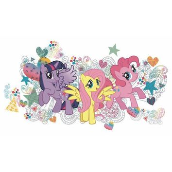York Wallpaper RMK2708GM My Little Pony Wall Graphix