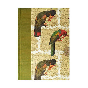 Journal Lined Paper Journal Parrots
