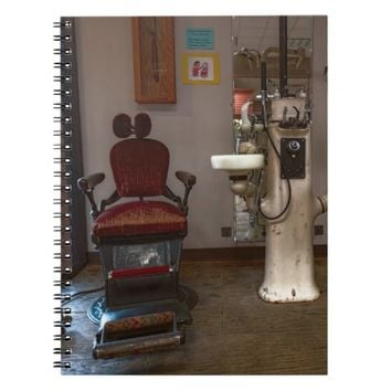 Dentist - Dental Office circa late 1800's and earl Spiral Note Books