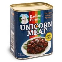 Think Geek Canned Unicorn Meat