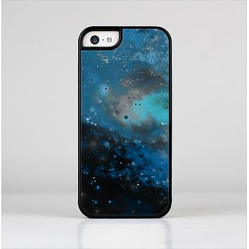 The Blue and Teal Painted Universe Skin-Sert Case for the Apple iPhone 5c