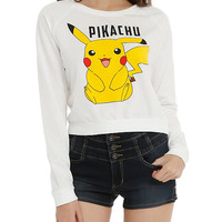 Pokemon Pikachu Girls Pullover Top