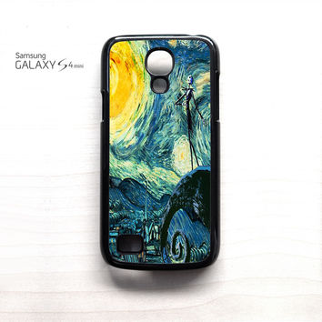 Nightmare Before Christmas Art Van Gogh for Samsung Galaxy Mini S3/S4/S5 phone case
