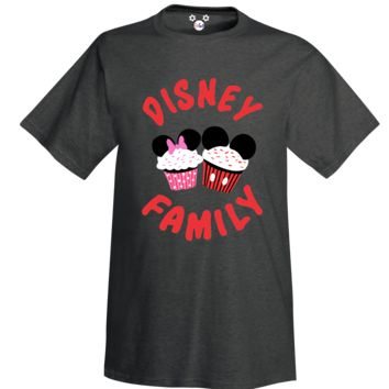 Disney Family Cupcake Adult T-Shirt