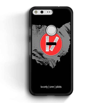 Twenty One Pilots Logo Black Google Pixel Case