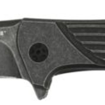 Zero Tolerance 0801BW Flipper Titanium BlackWash Folding Knife