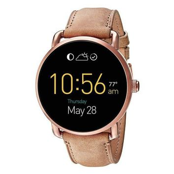 Rose Gold Smart Watch by Fossil