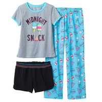 SO ''Midnight Snack'' Pajama Set - Girls
