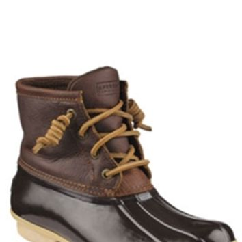 Sperry Top-Sider Saltwater Duck Boots for Women in Brown STS91176