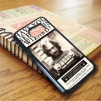 Harry Potter Wanted Poster Sirius Black Samsung Galaxy S7 Case