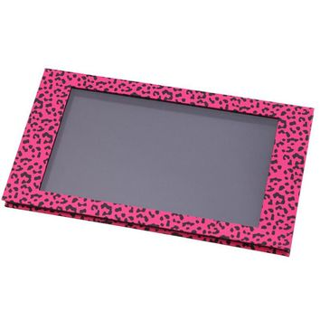 Z Palette Empty Magnet Makeup Palette for Eyeshadow Blush Concealer Beauty Cosmetic Pink Leopard Magnet Box DIY Make Up Set Tool