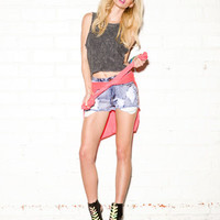 Distressed French Terry Muscle Tee | FOREVER 21 - 2059891336