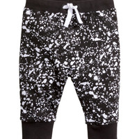 Patterned Sweatpants - from H&M