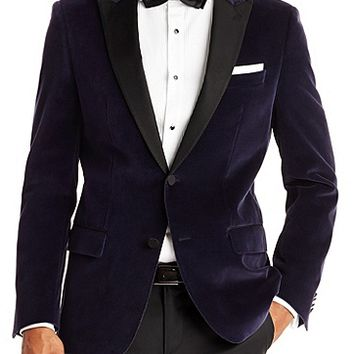 'Hayford' | Slim Fit, Velvet Sport Coat by BOSS