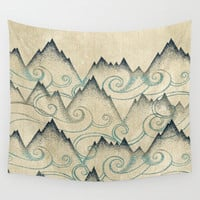 Mountain Breeze  Wall Tapestry by Rskinner1122