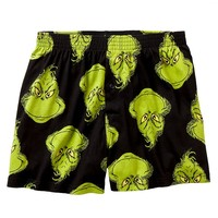Dr. Seuss Grinch Boxers - Men