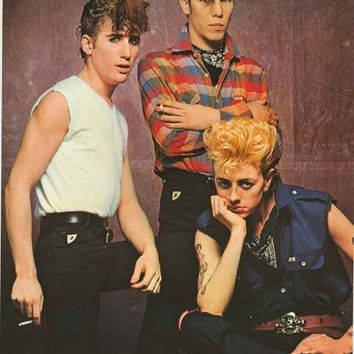 Stray Cats 1981 Band Portrait Poster 25x35
