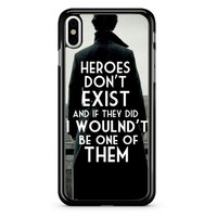 Sherlock 4 iPhone X Case