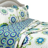 Pegasus Home Fashions Vintage Collection Nicole Quilt/Sham Set, King
