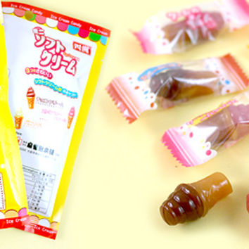 Buy Senjaku Ice Cream Caramel Candy at Tofu Cute