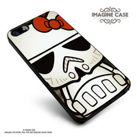 Hello Kitty Stormtrooper case cover for iphone, ipod, ipad and galaxy series
