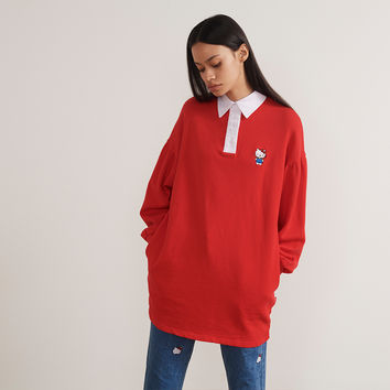 Hello Kitty x Lazy Oaf Rugby Dress - Dresses - Categories - Womens