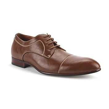 Ferro Aldo Men's 19378-L Cap Toe Lace Up Oxfords Dress Shoes