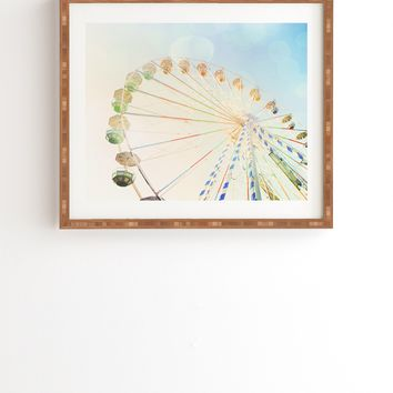 Happee Monkee Ferris Wheel Framed Wall Art