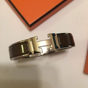 HERMES CLIC CLAC BANGLE SIZE:PM