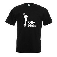OLLY MURS T SHIRT X FACTOR BLACK T SHIRT