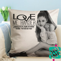 Ariana Grande Love Me Harder Zippered Pillow Case, Cushion Case, Pillow case