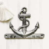 Anchor Key Wall Hook - Choose Your Color - Colorful Cast and Crew