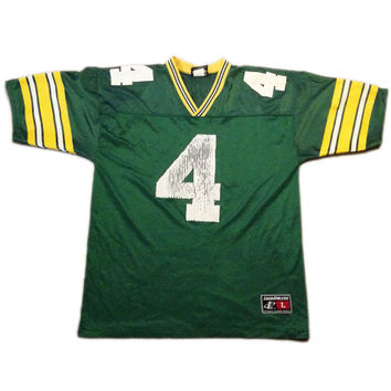 Vintage Jersey, Football, Brett Farve Jersey, Green Bay Packers, NFL, Nike, Size Adult Large