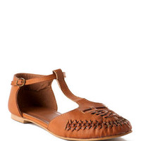 QUINN SHOES, JOSEY T-STRAP FLAT