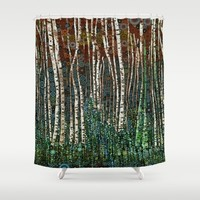 :: Wild in the Woods :: Shower Curtain by :: GaleStorm Artworks ::