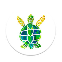 Popsocket Phone Grip & Stand-Sea Turtle, Green