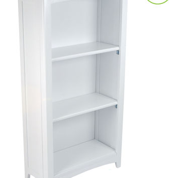 KidKraft Avalon Tall Bookshelf - White - 14001