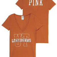 University of Texas Bling V-neck Tee - PINK - Victoria's Secret