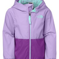 The North Face Girl's 'Flurry' Colorblock Hooded