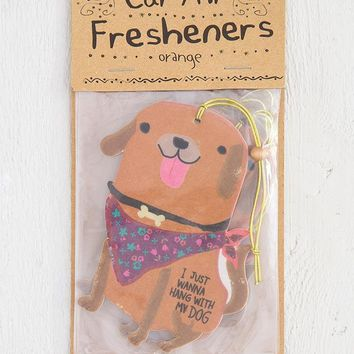 Hang With Dog Air Freshener