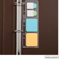 Martha Stewart Home Office™ with Avery™ Planner Insert, Classic NoteTabs® & UltraHold Sticky Notes