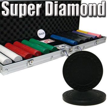 Custom Breakout 600 Ct Super Diamond Chip Set - Aluminum