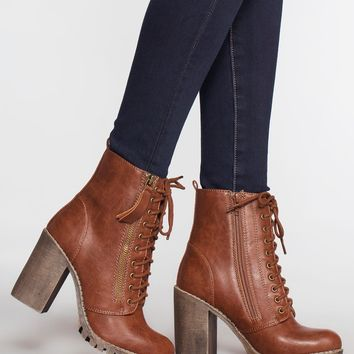 Edge Of Life Boots - Tan