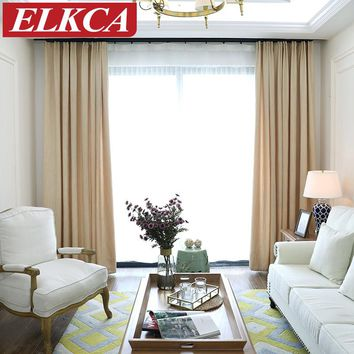 Thick Striped Chenille Window Curtains for Living Room Elegant Striped Curtains for Bedroom Soft Modern Curtains for Kids Drapes