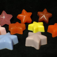 star soap ( 9 ) - solar system - galaxy - constellation - twinkle twinkle - astronomy - handmade soap - Pick your Color and Fragrance