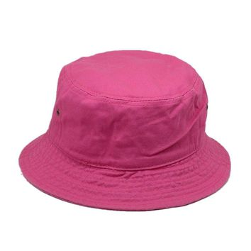 Men Women 100% Cotton Fishing BUCKET HAT CAP Boonie Brim visor Sun Safari HOT PK
