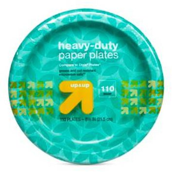 """Disposable Plates - 8.5"""" - 110 Count - up & up™"""