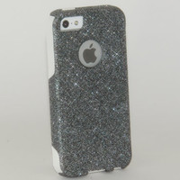 iPhone 5 Otterbox Case Custom Glitter Commuter by 1WinR on Etsy